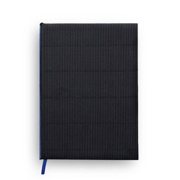 Corrugated Notebook, Black