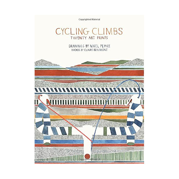 Cycling Climbs: Twenty Art Prints