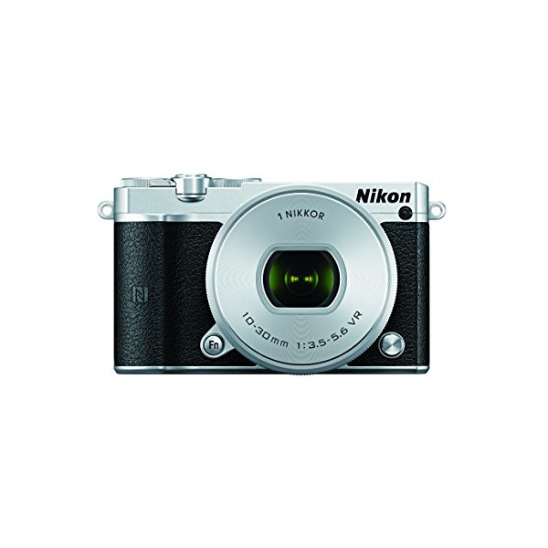 Nikon 1 J5 Mirrorless Camera w/ 10-30mm PD-ZOOM Lens (Silver)