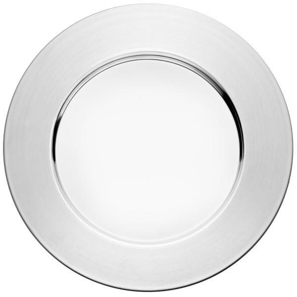 Iittala Sarpaneva Stainless Steel Plate, 10-1/4-Inch