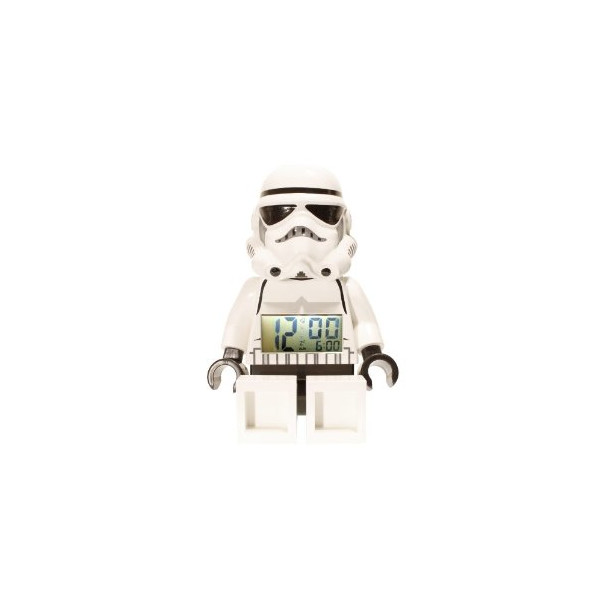 LEGO Unisex 9002137 Star Wars Storm Trooper Mini-Figure Alarm Clock
