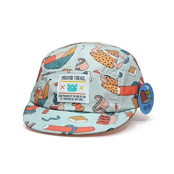 Tea Party Hat Handmade 5 Panel Baseball Cap