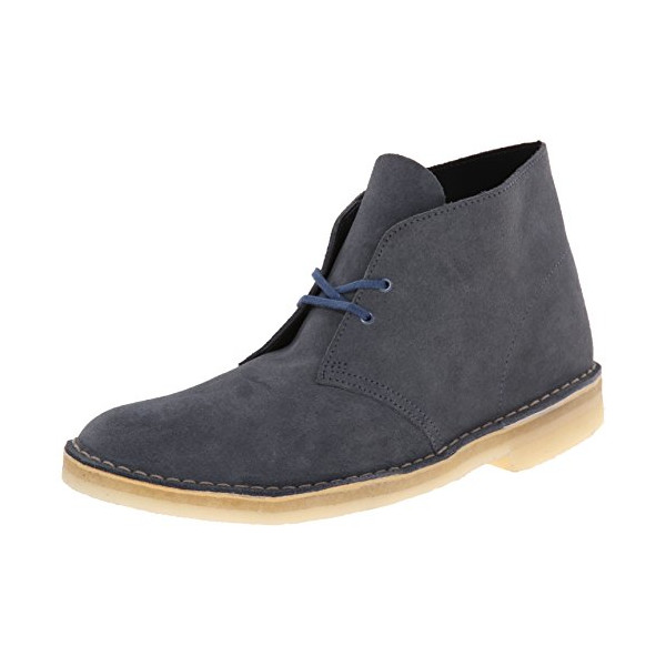 Clarks Men's Desert Boot Chukka Boot, Denim, 9.5 M US