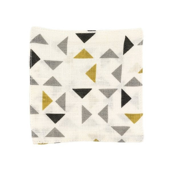 DwellStudio Mosaic Coasters, Sun, Set of 4