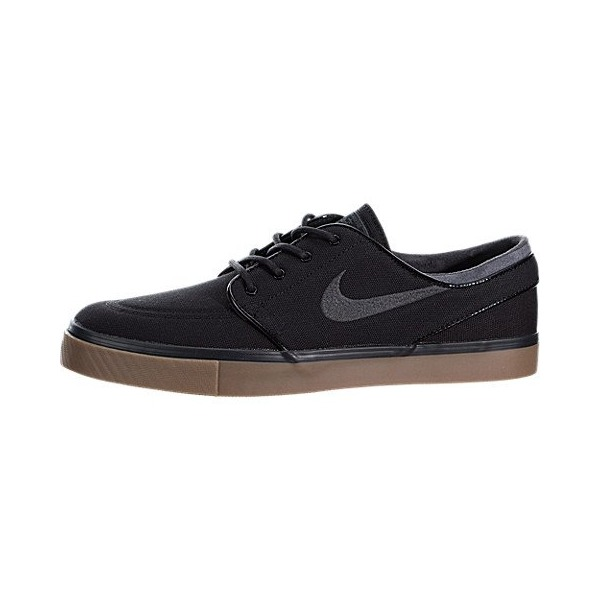 Nike Men's Zoom Stefan Janoski Black/Anthracite/Gum Med Brown Skate Shoe 8.5 Men US