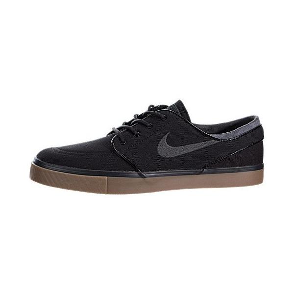 Nike Men's Zoom Stefan Janoski Black/Anthracite/Gum Med Brown Skate Shoe 8.5 Men US