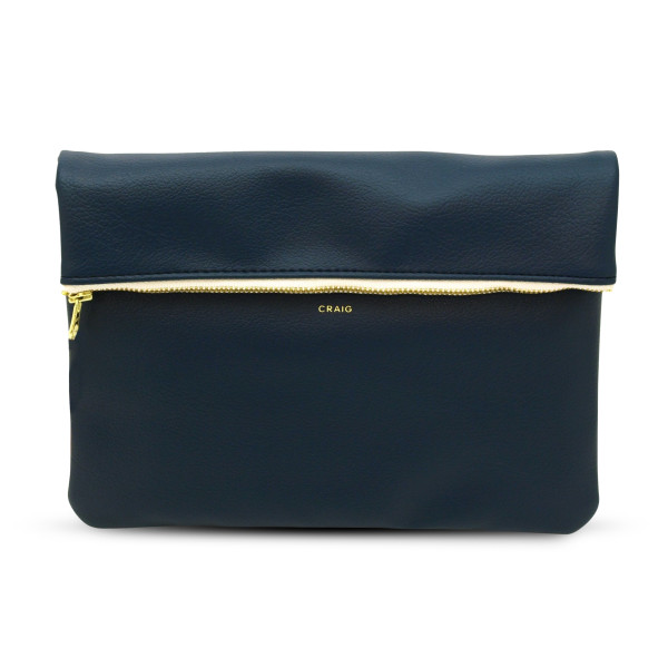 Delfonics Craig Carrying Case, Dark Blue Leather