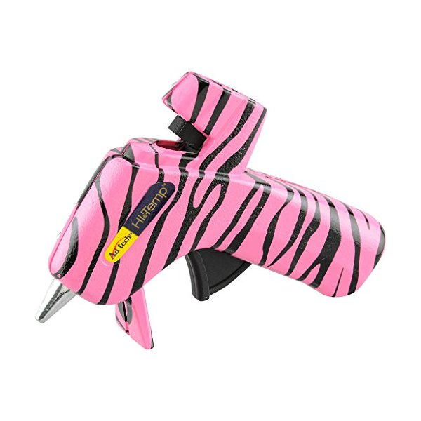 Adtech High Temperature Glue Gun, Mini, Pink Zebra