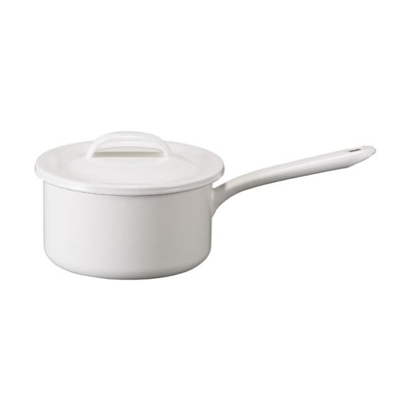"Sauce pan 6.3"" Enamel product by Tsukiusagi"