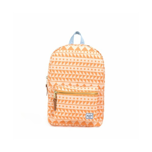 Herschel Supply Co. Settlement Mid-Volume, Chevron Butterscotch/Steel Blue, One Size