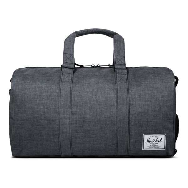 Herschel Novel 39L Duffle Bag, Black Crosshatch