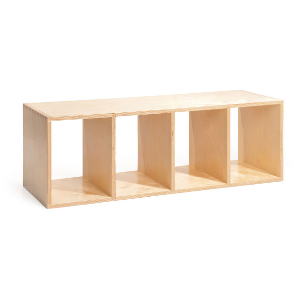 Offi Full-Sized Stacking Shelf, Birch