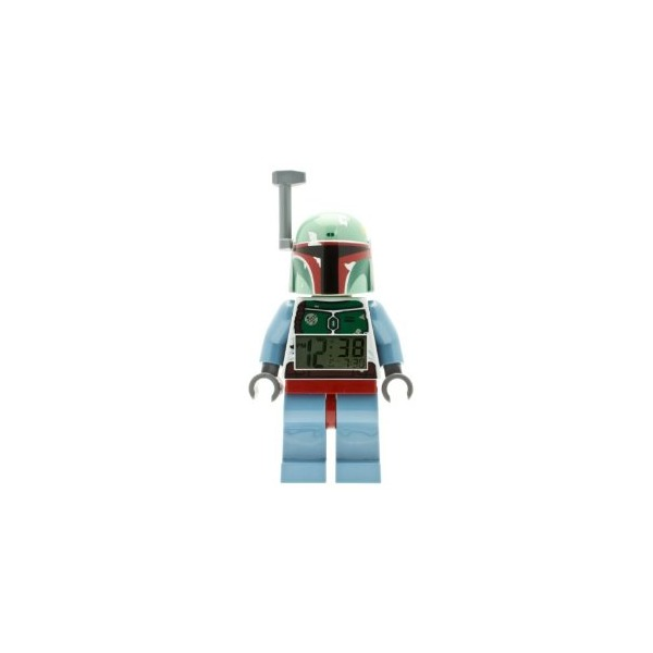 LEGO 9003630 Star Wars Boba Fett Minifigure Clock