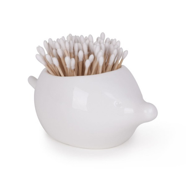 Umbra Foresta Ceramic Bathroom Canister, Porcupine