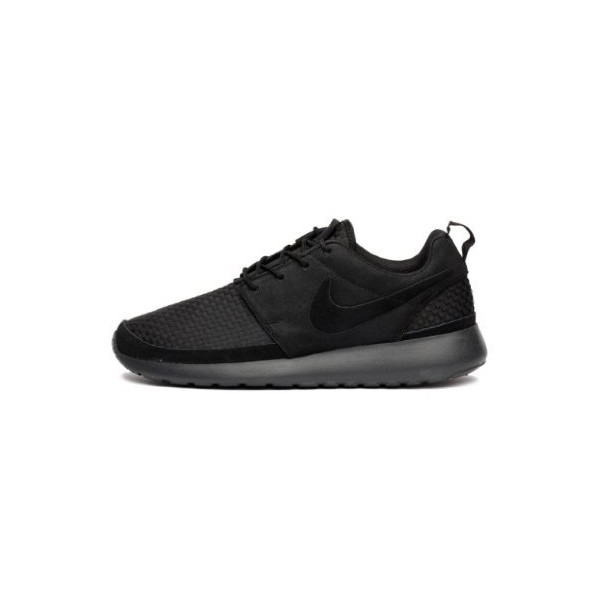 Nike Mens Roshe Run Woven Black 555602-001