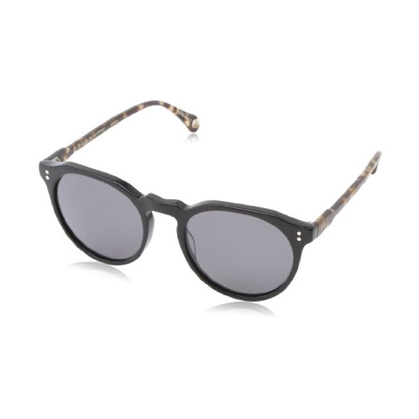Raen Remmy Sunglasses, Matte Brindle Tortoise & Polished Black, 52 mm