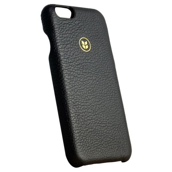 Leather iPhone 6 Case 4.7 inch, The ALTUS by Barlii - Luxury Top-Grain Italian Leather with Soft Microfiber interior - Same Leathers utilized by High Street Fashion Houses. Best iPhone 6 leather Case on Amazon. [Black Exterior]