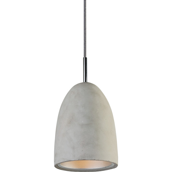 LightMakers Hanging Concrete Lamp with Reflector
