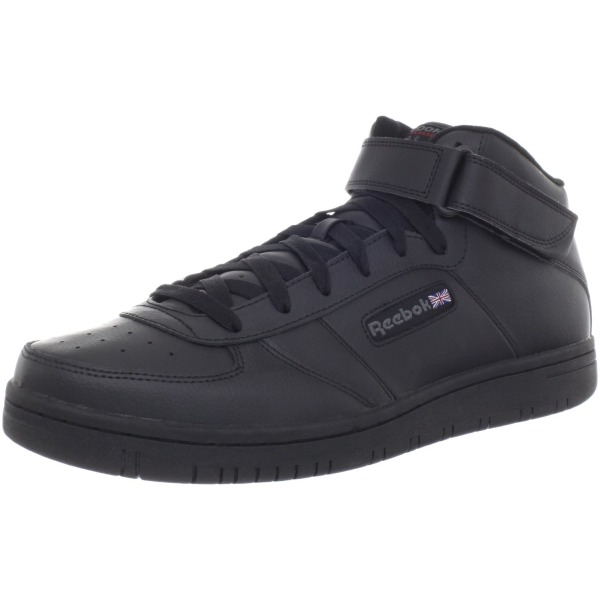 Reebok Men's Reeamaze Mid Fashion Sneaker,Black/Black,7.5 M US