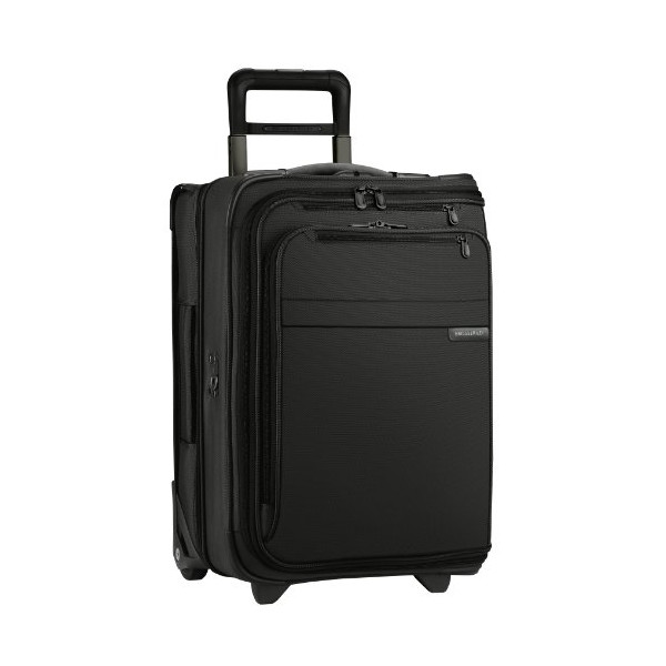 Briggs & Riley @ Baseline Luggage Baseline Domestic Carry-On Upright Garment Bag, Black, Small