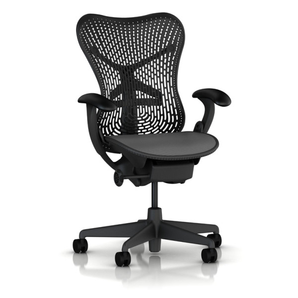 Mirra Chair by Herman Miller, Basic, Graphite