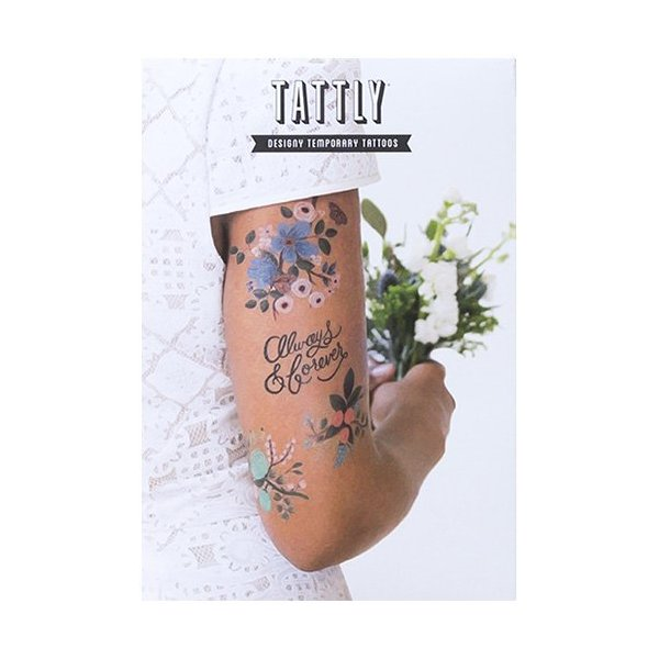 Tattly Temporary Tattoos Lovely Set, 1 Ounce