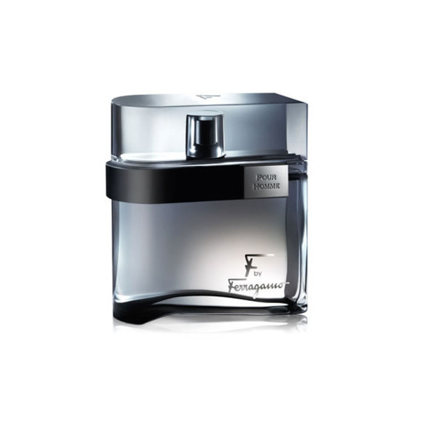 F Ferragamo Black By Salvatore Ferragamo For Men Eau De Toilette Spray, 3.4 Oz
