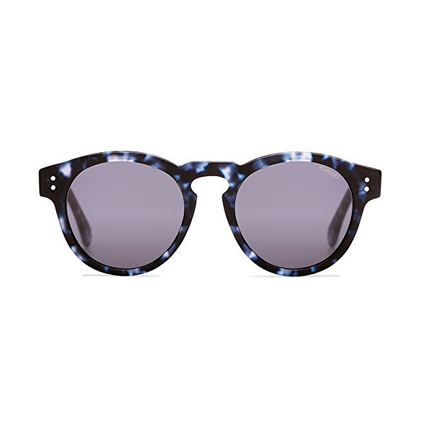 Komono The Clement Indigo Demi / Black Round Sunglasses