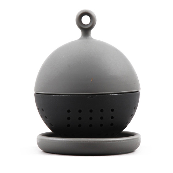 Floating Tea Strainer, Black