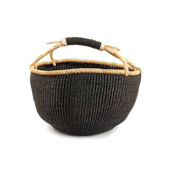 Basic Bolga Basket - Black
