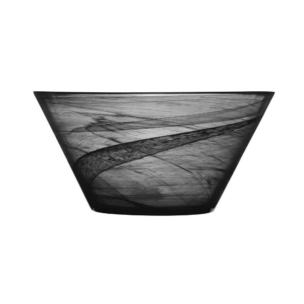SEAglasbruk Serving Bowl, Black
