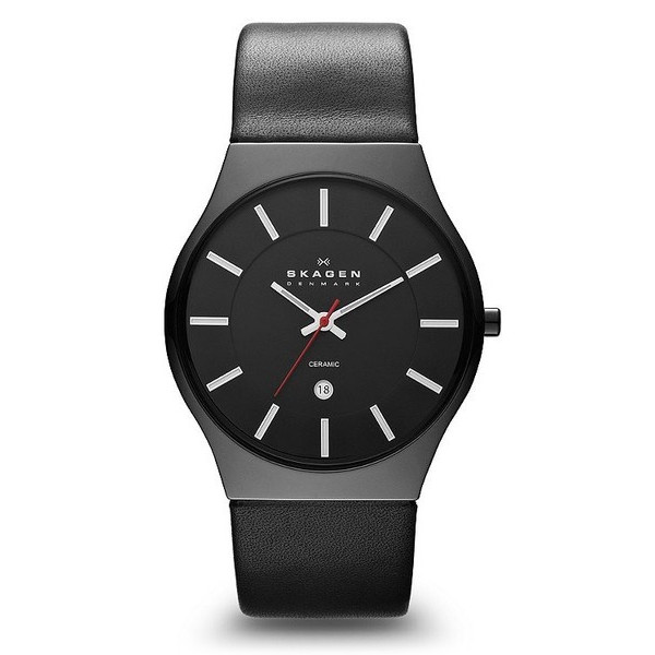 Skagen Black Ceramic Men's Watch