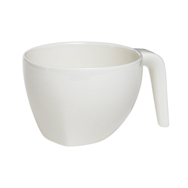 Iittala Ego 13-1/2-Ounce Breakfast Cup, White