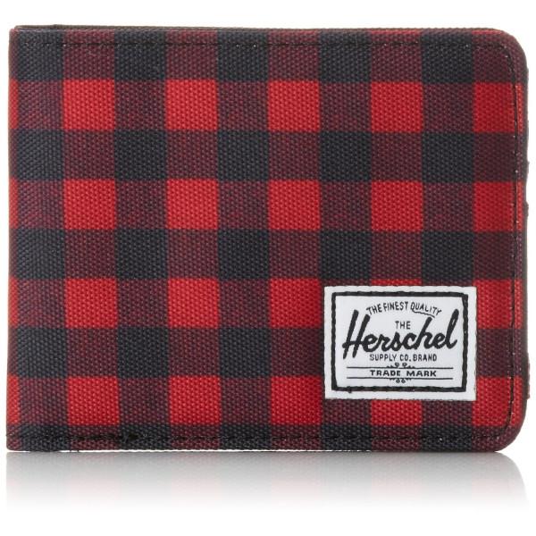 Herschel Supply Co. Men's Roy Wallet, Buffalo Plaid/Black, One Size