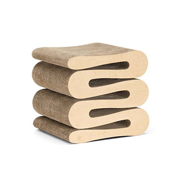 Vitra Wiggle Stool, Natural