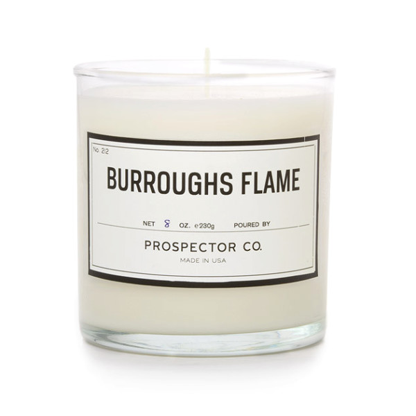 Prospector Co Candle, Burroughs Flame, Large