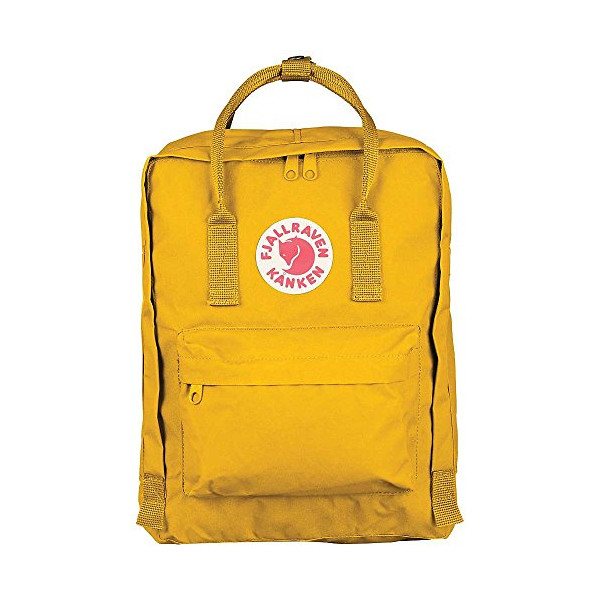 Fjallraven Kids' Kanken Bag Warm Yellow One Size