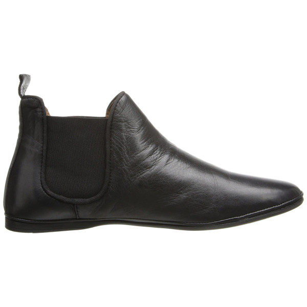 Miz Mooz Women's Marcella Chelsea Boot, Black Leather