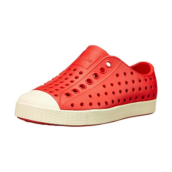 Native Child Jefferson - Torch Red/Bone White Size 4 (Toddler)