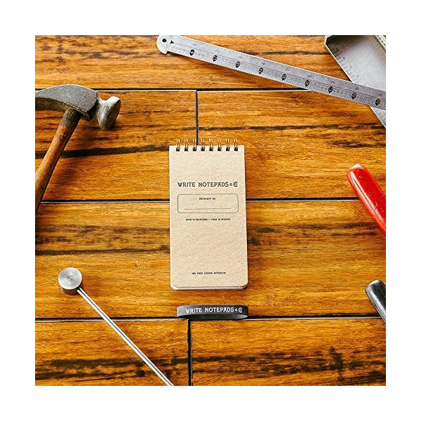 Pocket Ledger Notebook