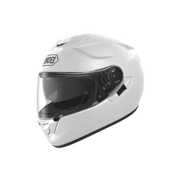 Shoei Solid GT-Air Motorcycle Helmet - White