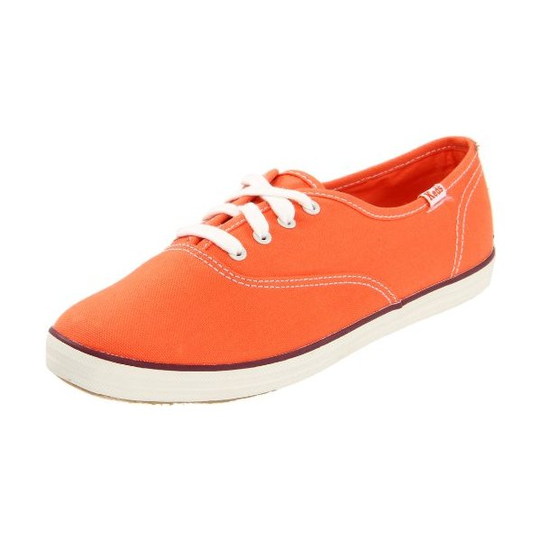 Keds Women's Champ Ox D Orange Casual Lace Ups WF42142 7 UK