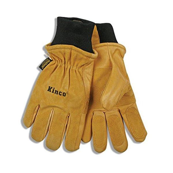 """Kinco 901-L-1 Pig Skin Ski Gloves, 11.25"""" Height, 1"""" Length, 5.25"""" Width, Large"""