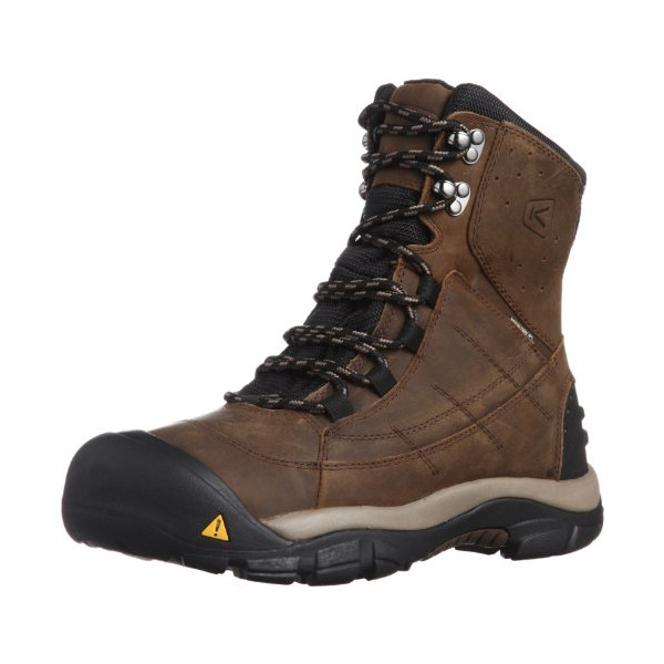 KEEN Men's Summit County III Snow Boot, Cascade Brown/Brindle, 10 M US
