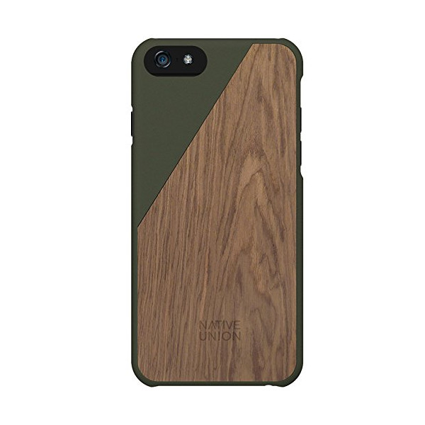 Native Union Clic Wooden Case for iPhone 6 (Olive)