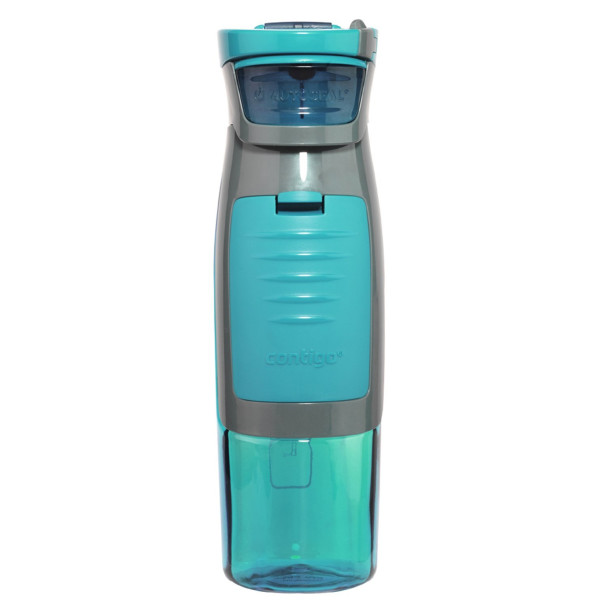 Contigo AUTOSEAL Kangaroo Water Bottle with Storage Compartment - 24 oz. - Turquoise