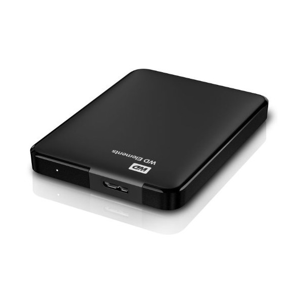 HDD EXT 1TB WD 2.5 Elements Portable Black
