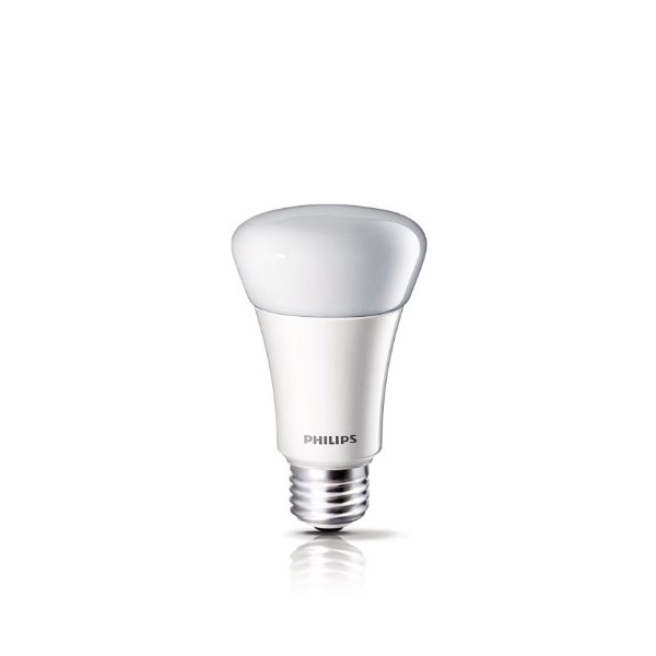 Philips A19 LED Household Dimmable Light Bulb, Soft White, 11-watt (60 Watt Equivalent)