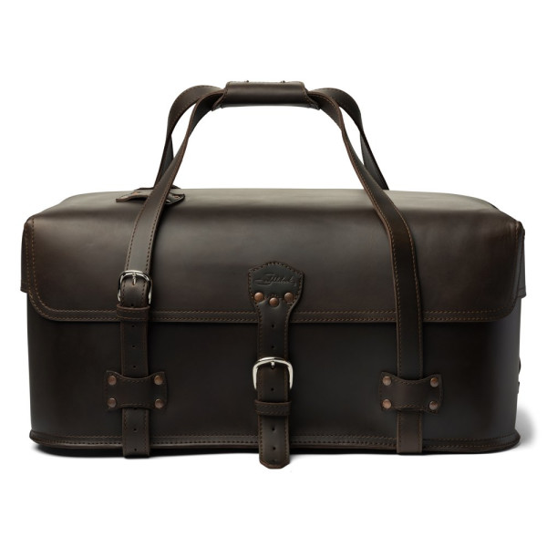 Saddleback Leather Large Utility Duffel,  Dark Coffee Brown