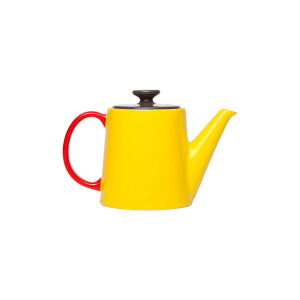Jansen+co My Teapot - Yellow/Anthracite/Red